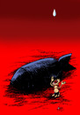 Cartoon: Need Water (small) by aungminmin tagged cartoon,children,people