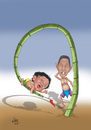 Cartoon: Playing (small) by aungminmin tagged cartoons