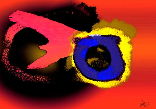 Cartoon: eye (medium) by Lutz-i tagged eye,auge,hingucker