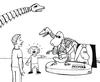 Cartoon: The awful truth (small) by Jani The Rock tagged moomin,skeleton