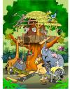 Cartoon: Teamwork (small) by Zeb tagged teamwork,animals,cover