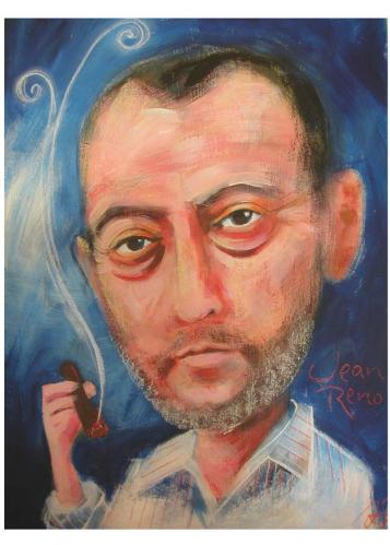 Cartoon: Jean Reno (medium) by Jollustration tagged jean,reno,frankreich,schauspieler