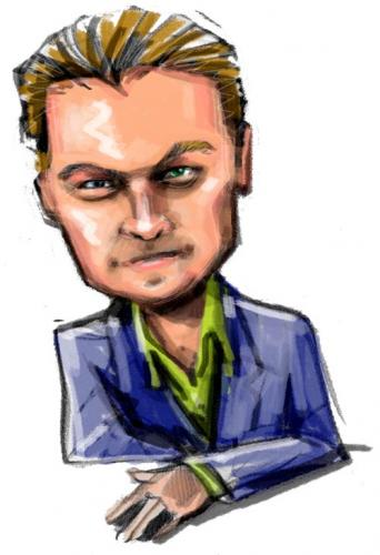 Cartoon: Leonardo di Caprio (medium) by Jollustration tagged leonardo,di,cprio,acter,schauspieler,film,mann