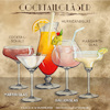 Cartoon: Cocktailgläser (small) by alesza tagged cocktail glas gläser trinken bar martini hurricane margarita ballon cocktailschale illustration procreate