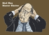 Cartoon: Beyound Thundercome (small) by Fusca tagged blatter,fifa,corruption,soccer,international