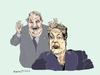 Cartoon: Brazilian Dictatorship (small) by Fusca tagged corruption,dictators,leftist,cleptocracy,brazil,lula,rousseff