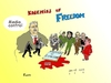 Cartoon: Censorship and Terror (small) by Fusca tagged terror,censorship,free,press,expression,freedom,islam,opinion,violence