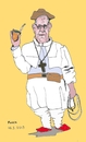 Cartoon: South American pope (small) by Fusca tagged pope,francis,papa,francesco,francisco