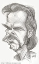 Cartoon: Nick Cave (small) by lufreesz tagged nick,cave,and,the,bad,seeds,caricature