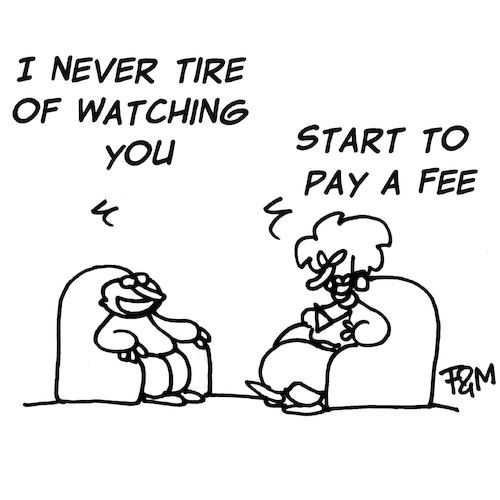 Cartoon: Start to pay (medium) by fragocomics tagged love,love
