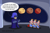 Cartoon: deathstar (small) by ChristianP tagged deathstar