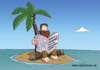 Cartoon: inselwitzatoll (small) by ChristianP tagged inselwitzatoll