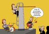 Cartoon: Stagediving (small) by ChristianP tagged stagediving,heavy,metal,concert,konzert
