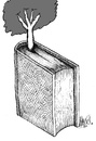 Cartoon: Tree book (small) by Ramses tagged tree