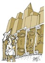Cartoon: Wall (small) by Ramses tagged money