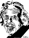 Cartoon: albert einstein (small) by ignant tagged einstein cartoon