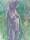 Cartoon: Nude 8 (small) by boa tagged painting,color,oil,boa,romania,painter,landscape