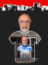 Cartoon: I and my T-shirt (small) by Zoran Spasojevic tagged collage,serbia,selfportrait,kragujevac,zoran,spasojevic,paske,man,digital,graphics,portrait