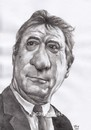 Cartoon: De Niro (small) by Joen Yunus tagged caricature pencil bw celebrities movie hollywood actor de niro