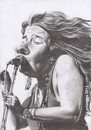 Cartoon: Janis Joplin (small) by Joen Yunus tagged pencil rockstar drawing caricature