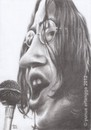 Cartoon: John Lennon (small) by Joen Yunus tagged caricature,charcoal,rockstar