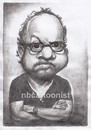 Cartoon: Paul Giamatti (small) by Joen Yunus tagged caricature,pencil,celebrities,movie,hollywood,giamatti
