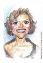 Cartoon: Sigourney Weaver (small) by Joen Yunus tagged caricature,pencil,celebrities,movie,hollywood,actress,sigourney