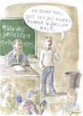 Cartoon: Goethe (small) by Christoph Gremmer tagged goethe,gedicht,poem,vortrag,schule
