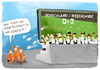 Cartoon: german fans (small) by kgbr tagged football,soccer,germany,netherlands,wm