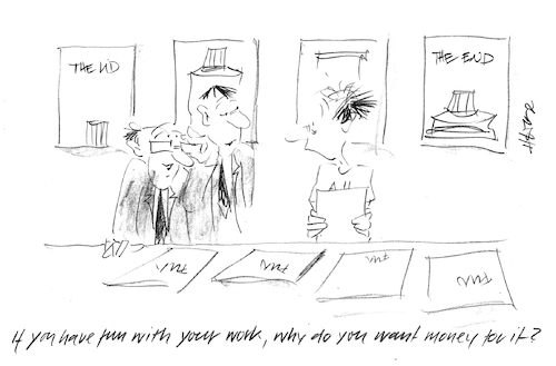 Cartoon: Work is fun... (medium) by helmutk tagged business
