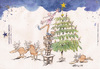 Cartoon: Christmas Card 05 (small) by helmutk tagged social,life