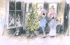 Cartoon: Christmas Card 06 (small) by helmutk tagged social,life