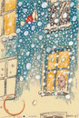 Cartoon: Christmas card 1998 (small) by helmutk tagged social,life