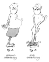 Cartoon: How it works... (small) by helmutk tagged business