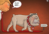 Cartoon: Play Nice (small) by Tjeerd Royaards tagged turkey erdogan kurds usa syria attack