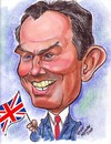 Cartoon: Caricature of Tony Blair (small) by Steve Nyman tagged caricature,of,tony,blair