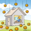 Cartoon: Home sweet Homeoffice (small) by Rovey tagged corona,virus,coronavirus,covid19,epidemie,pandemie,infektion,infektionsrisiko,krankheit,krankheitserreger,krise,homeoffice,zuhause,heimarbeit,heim,schutzmaßnahme,vorsicht,ausbreitung,haus,prävention,home,homework,epidemic,pandemic,infection,protective,measure,protection,care,crisis