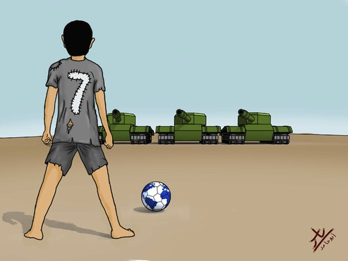 Cartoon: free kick (medium) by yaserabohamed tagged free,kick,football,cristiano,ronaldo