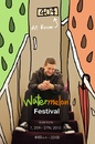 Cartoon: watermelon festival poster (small) by popmom tagged poster,fun