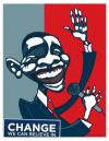 Cartoon: Obama for president (small) by pincho tagged caricaturas,caricature,obama,presidente