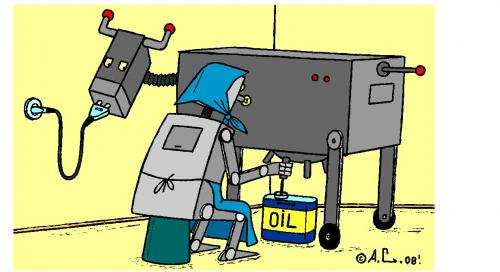 Cartoon: Oil (medium) by Aleksandr Salamatin tagged oil,energy