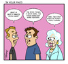 Cartoon: Betty White (small) by Gopher-It Comics tagged gopherit ambrose bettywhite