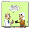 Cartoon: Rash of Khan (small) by Gopher-It Comics tagged gopherit ambrose startrek khan