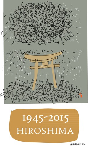 Cartoon: Hiroshima (medium) by gungor tagged japan