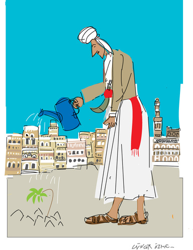 Cartoon: Hope (medium) by gungor tagged yemen