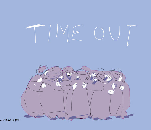 Cartoon: Time Out for Tehran (medium) by gungor tagged middle,east,middle,east
