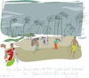 Cartoon: Cyclone in Bangladesh (small) by gungor tagged bangladesh