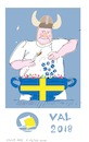 Cartoon: Election Sweden 2018 (small) by gungor tagged sweden