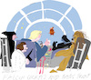 Cartoon: Falcon Cockpit (small) by gungor tagged movie