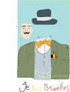 Cartoon: Je suis Bruxelles (small) by gungor tagged belgium